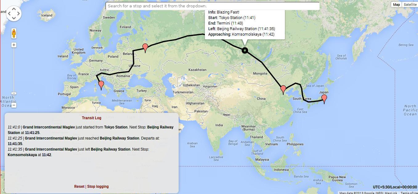 transit js - Client-side, schedule-based Transit maps